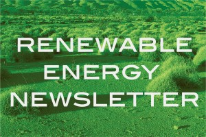 Renewable Energy Newsletter